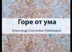 Woe from Wit ... Горе от ума Griboedov AUDIO KNIGA PO RUSSKI FULL AUDIOBOOK RUSSIAN Audiolibri in Russo